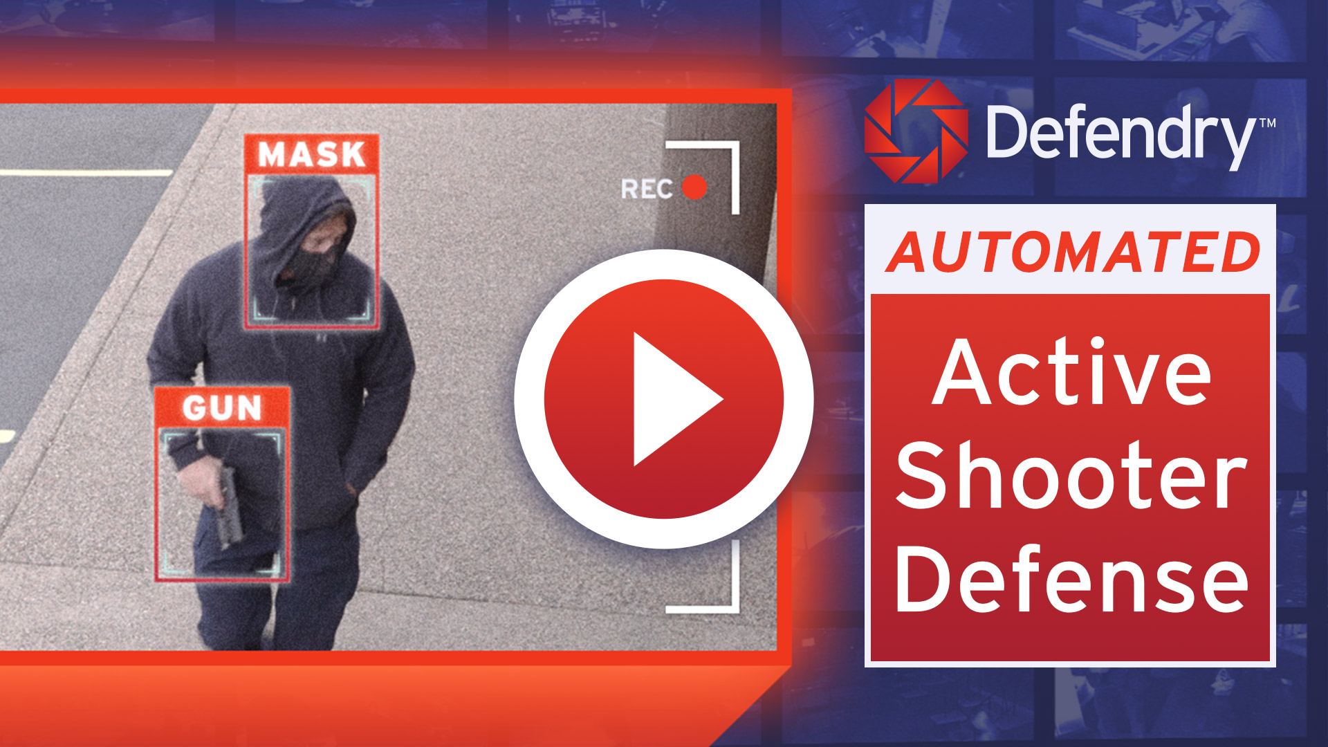 Defendry: Automated Active Shooter Defense Security System