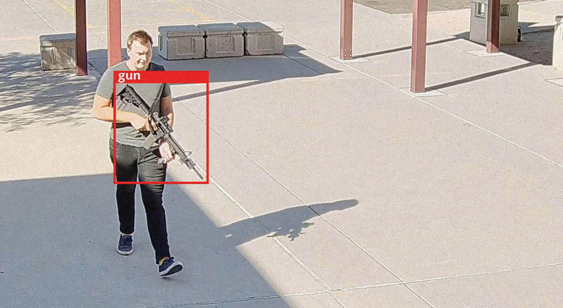 24/7 AI gun detection