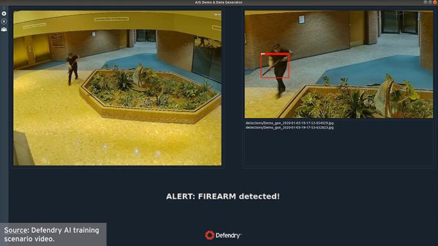 Indoor Office Lobby Detection