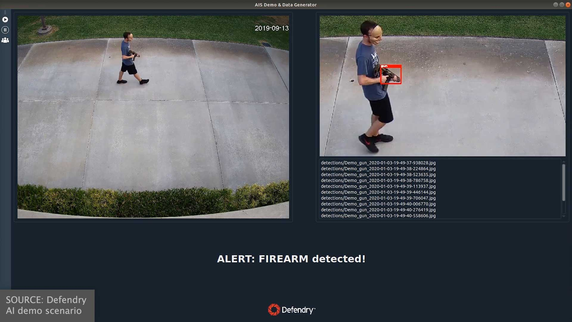 Defendry | Outdoor Gin Detection | Rifle