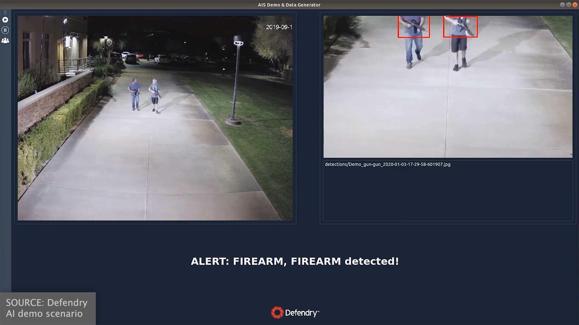 Defendry   Outdoor Gun Detection   Night, Rifles