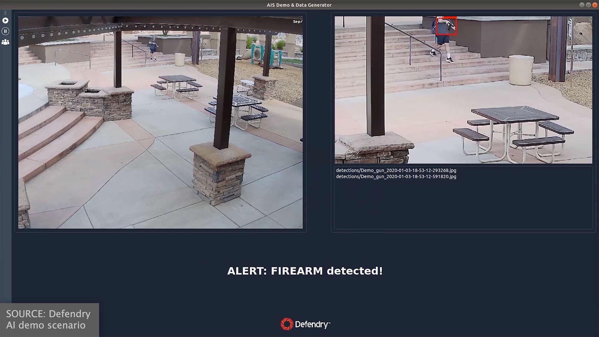 Defendry   Outdoor Gun Detection   Rifle