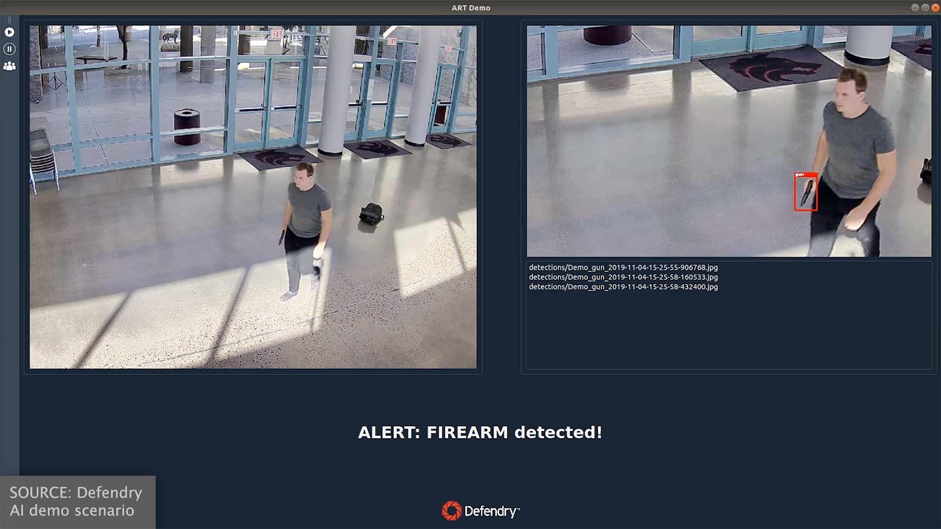 Indoor Detection - GUN