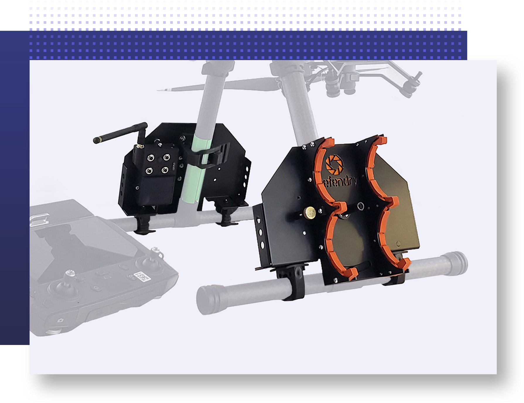 Law enfocement drone accessory